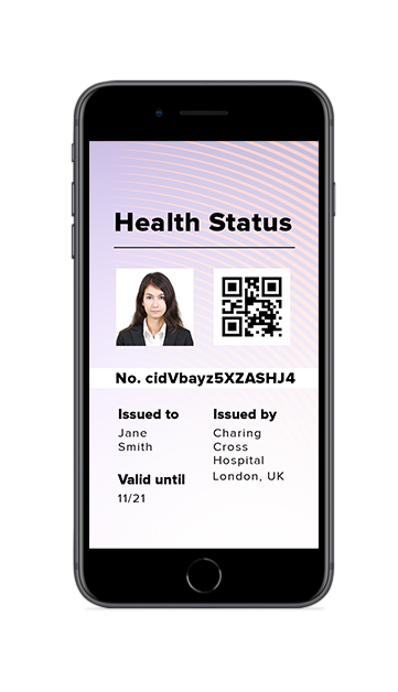 Health Credential solution