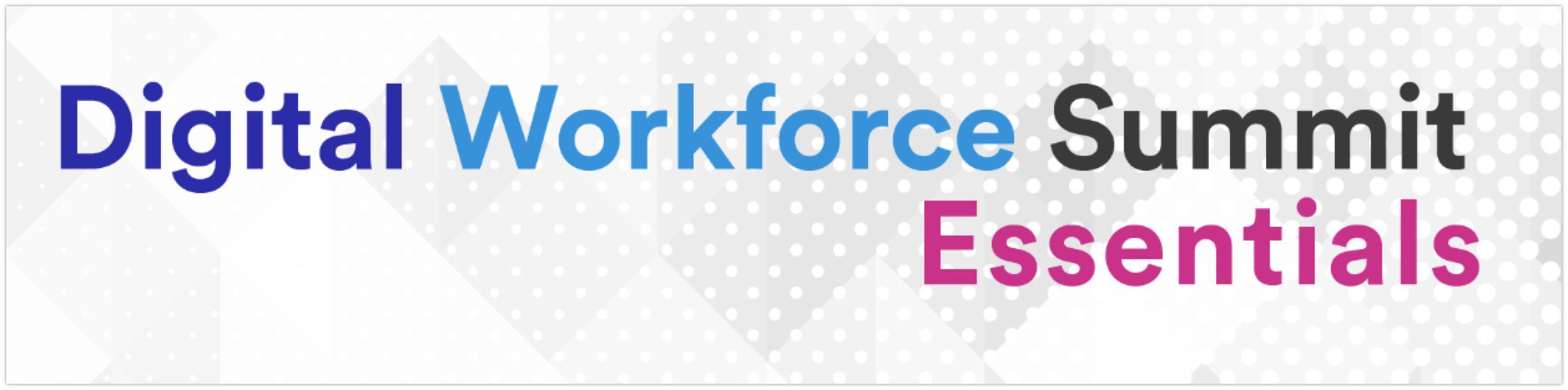 Digital Workforce Summit