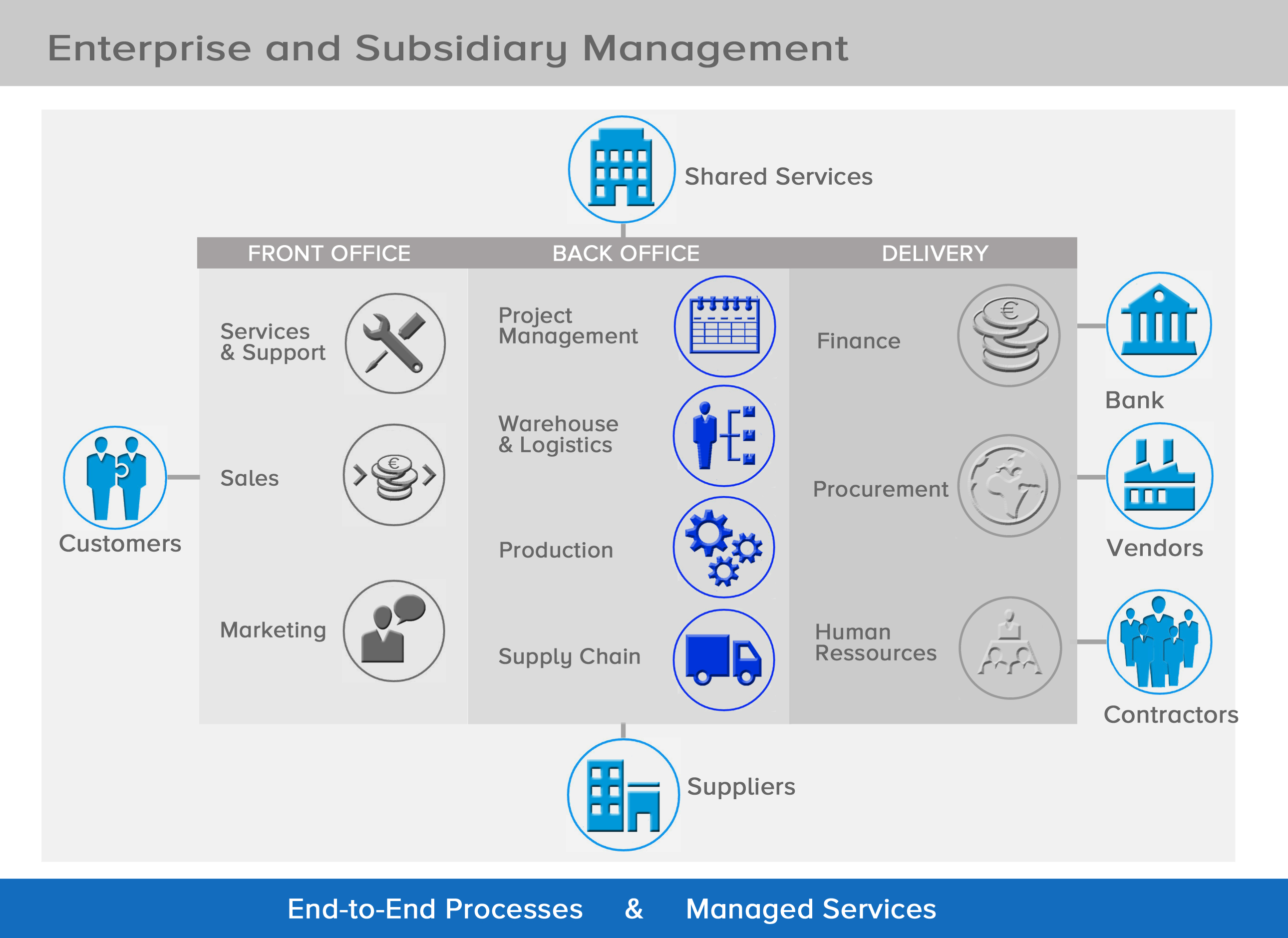 Subsidiary Management Overview