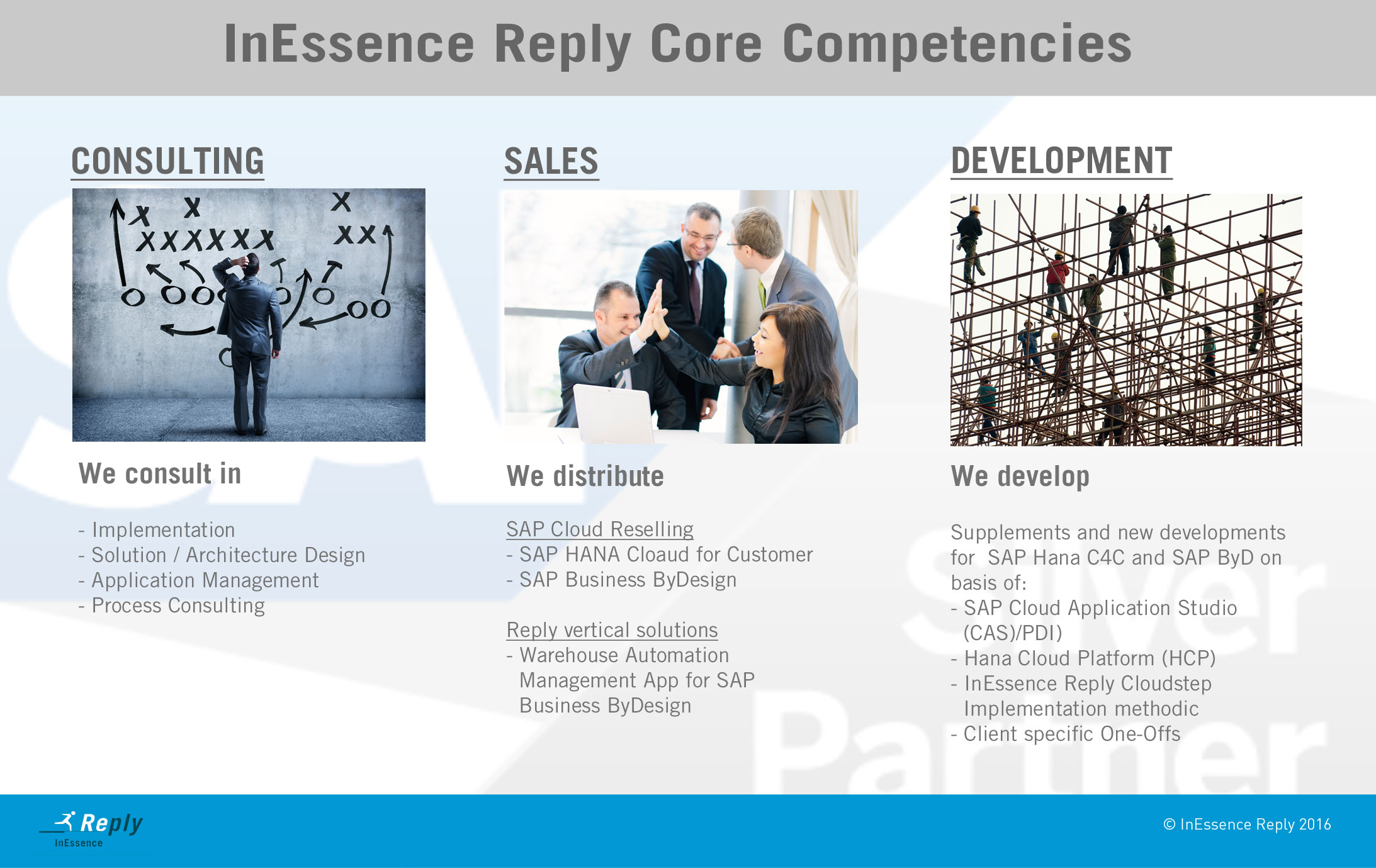 InEssence Reply - SAP services & solutions