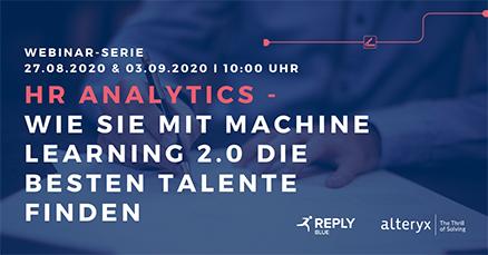 Webinar-Reihe HR-Analytics