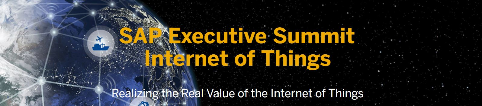 SAP Executive Summit Internet of Things 2016