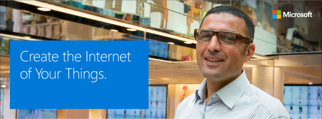 Microsoft IoT solutions day 2015
