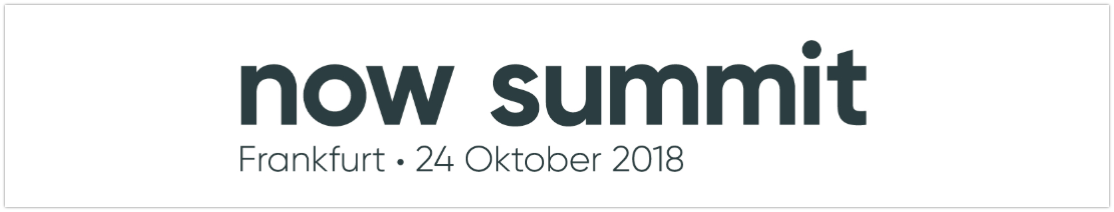 NOW SUMMIT 2018