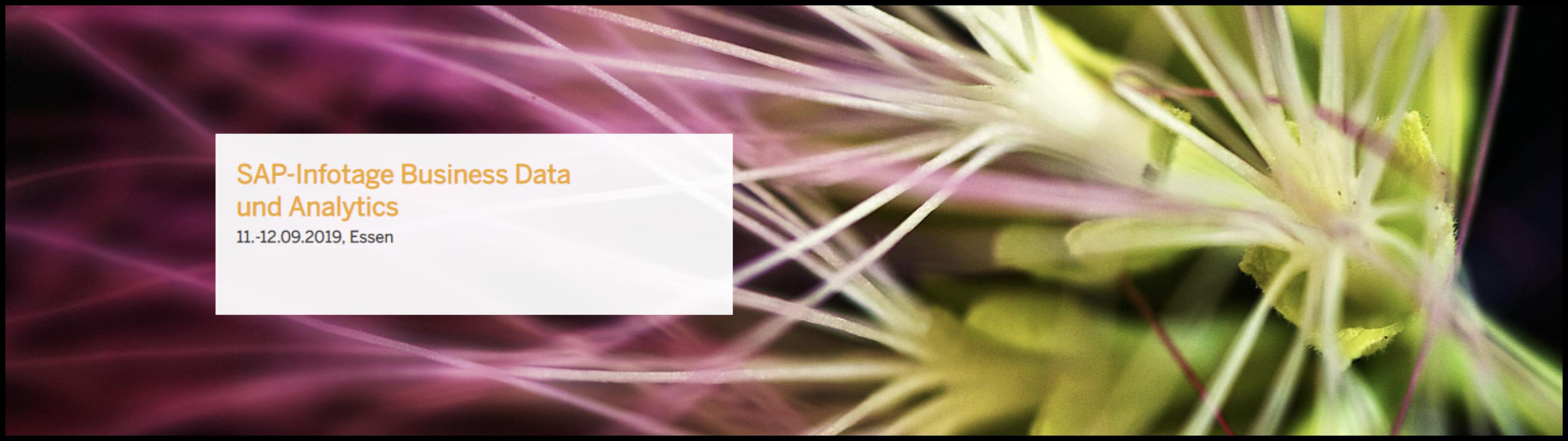 SAP-Infotage 2019
