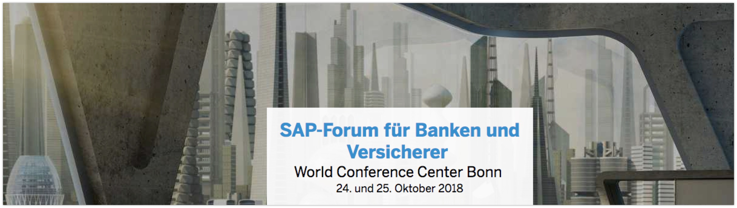 SAP Forum for Banks and Insurers