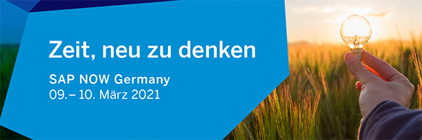 SAP NOW Germany 2021