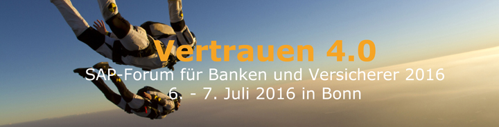 SAP-Forum for Banks and Insurer 2016