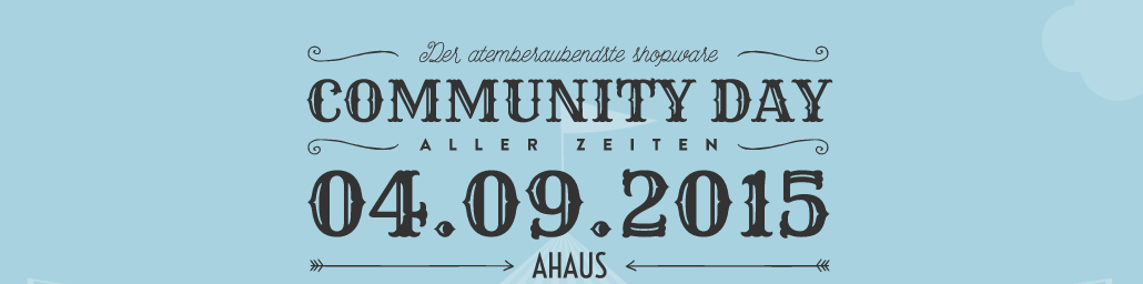 Shopware Community Day 2015