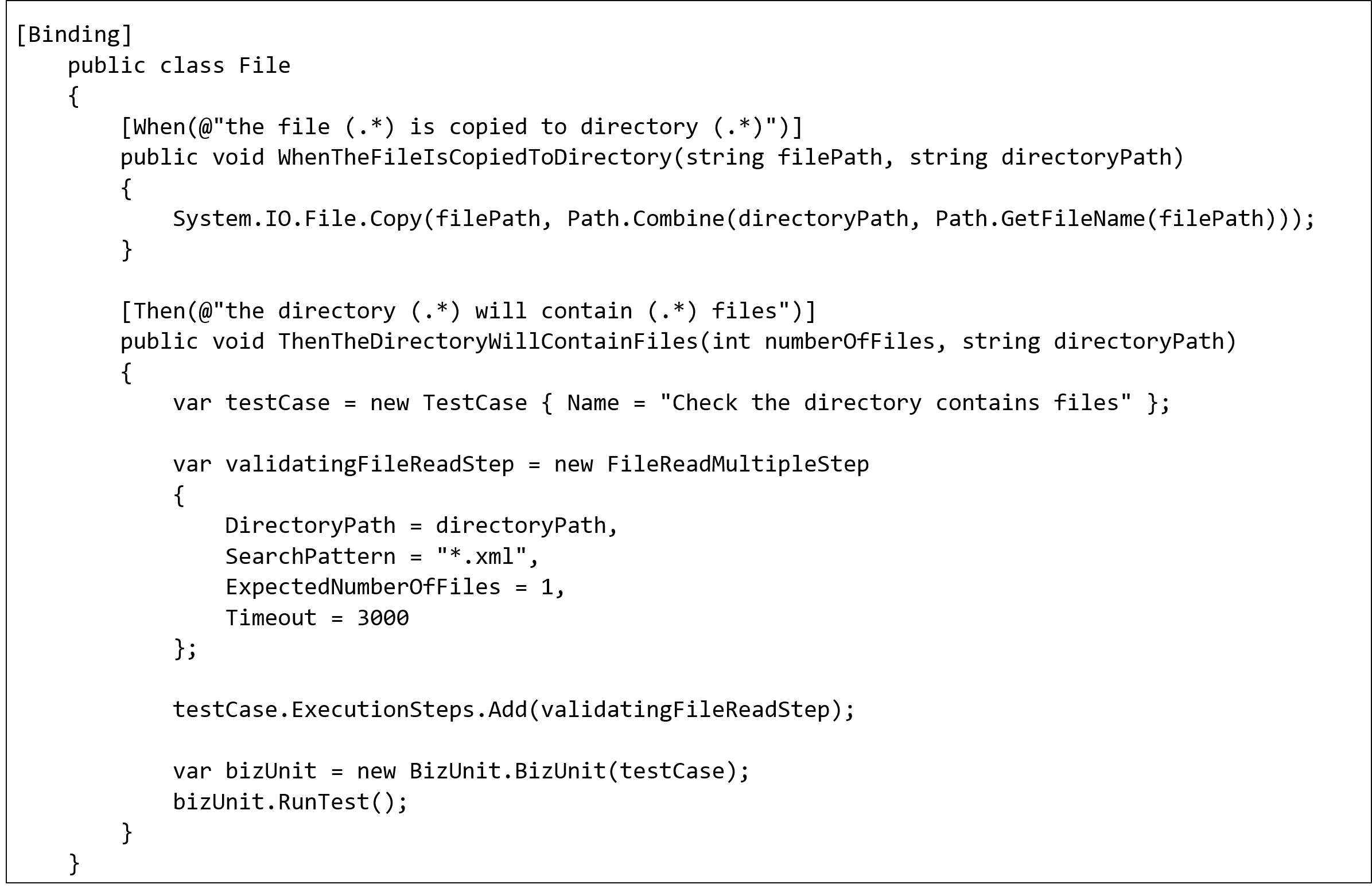 Specflow blog_Create step definitions2