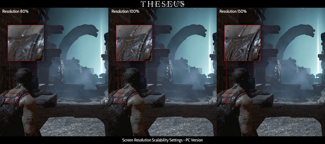 Theseus Screen Resolution