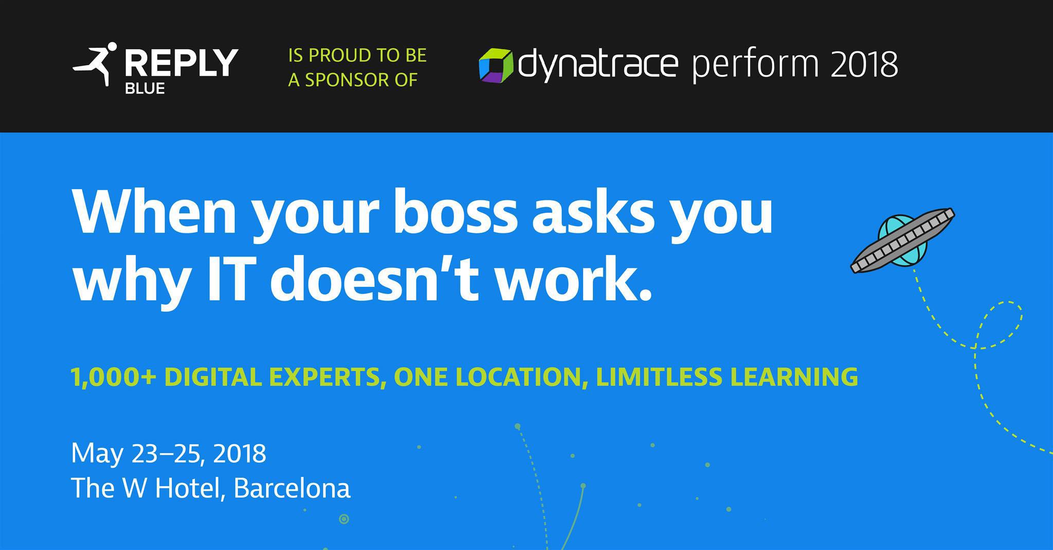 Dynatrace Perform Europe 2018