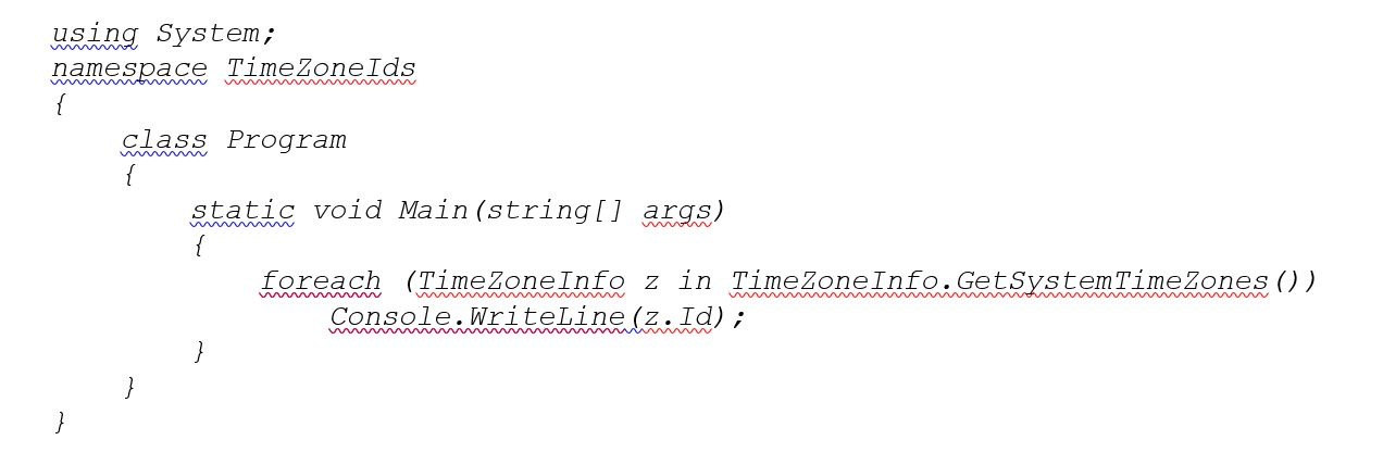 DateTime Conversion with Daylight Saving Time 1