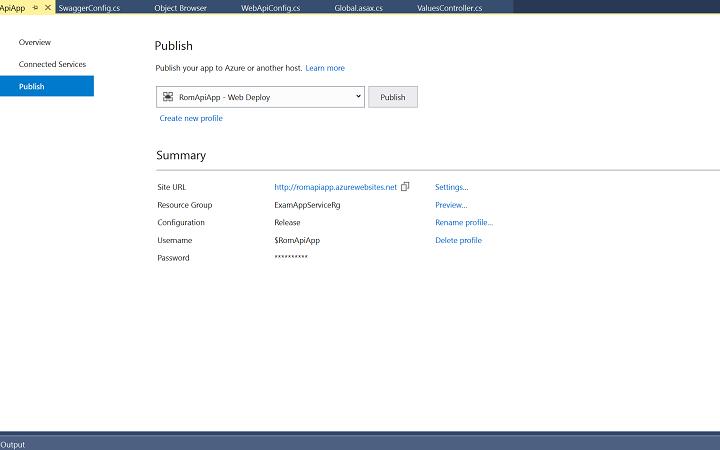 Leveraging API Apps in Azure 3