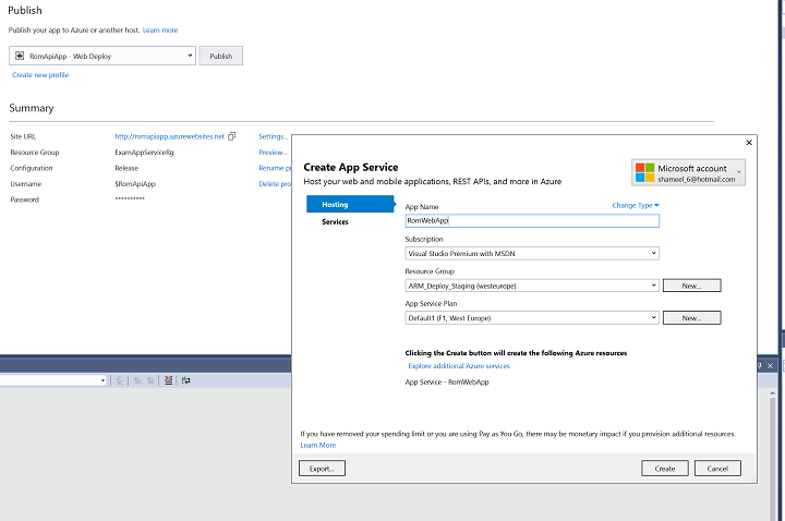 Leveraging API Apps in Azure 5