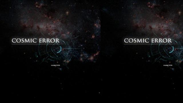 Cosmic Error