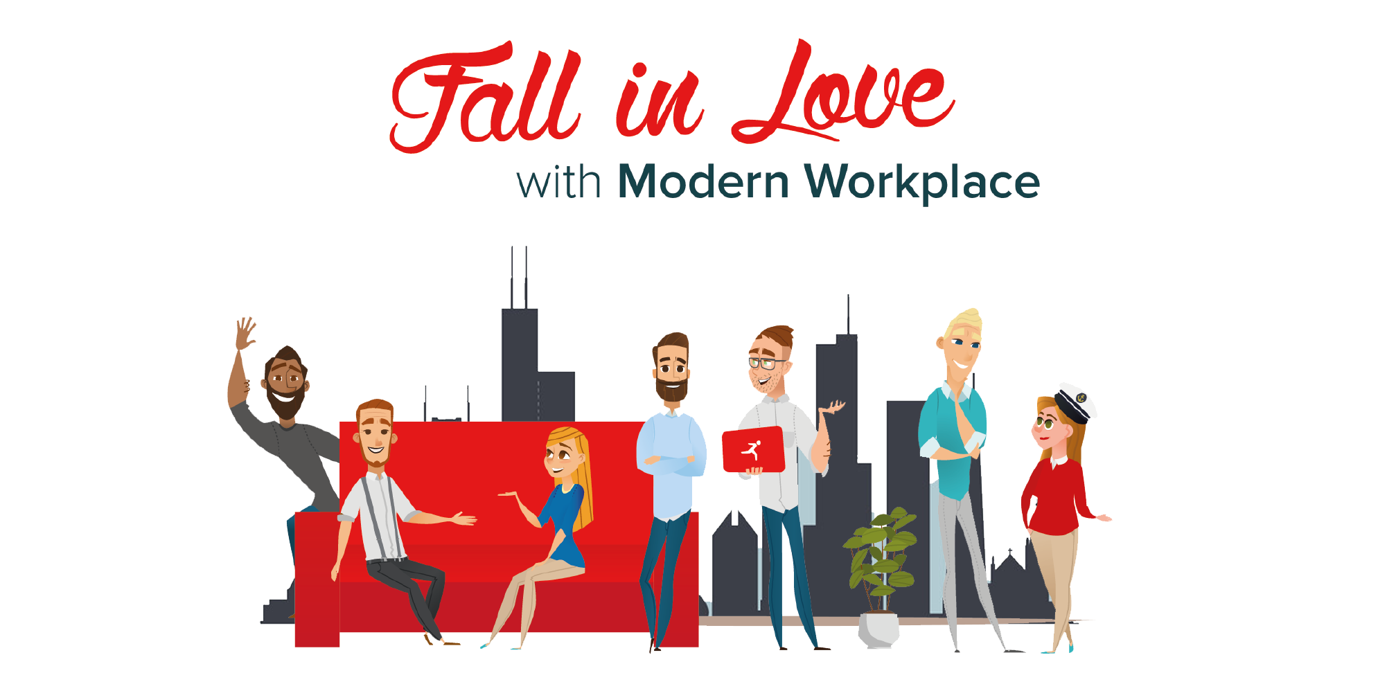 Fall in love with the modern workplace - Office 365