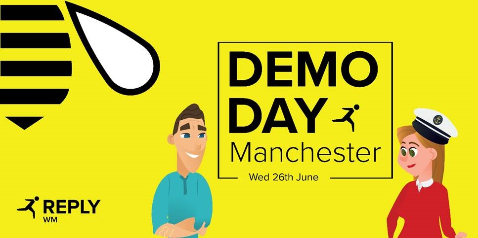 Demo Day Manchester Banner